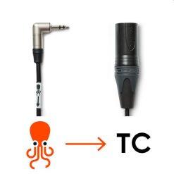 TC kabel Jack -> XLR