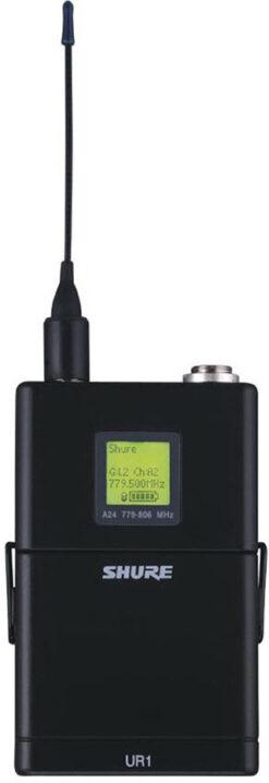 Shure UR1 frekvence 578 -638 MHz