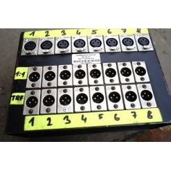 Professional sound Pasivní rozbočení 8ch 2