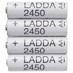 AA Baterie IKEA LADDA